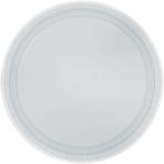 Silver Sparkle Paper Plates 22.8cm - 12 PKG/8
