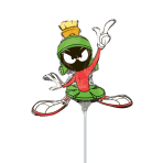 Marvin the Martian Mini-Shape Foil Balloons - A30 5 PC