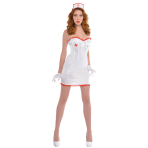 Adults Sexy Nurse Costume - Size 10-12