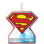 Justice League Candles - 6 PKG/4
