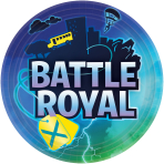 Battle Royal Paper Plates 23cm - 12 PKG/8