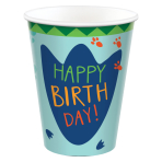 Dino-Mite Party Paper Cups 250ml - 12 PKG/8