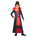 Rose Vampiress Sustainable Costume - Age 8-10 Years - 1 PC