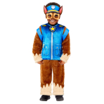 Paw Patrol Deluxe Chase Costume - Age 4-6 Years - 1 PC