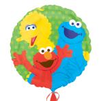 Sesame Street Gang  Standard Foil Balloons  - S60 5 PC