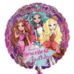 Ever After High Happy Birthday Standard Foil Balloons S60 - 5 PC