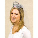 Hen Party Tiaras with Veils - 6 PC