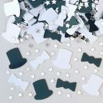 Top Hat Metallic Confetti 14g - 12 PKG