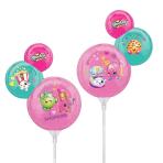 Shopkins Minishape Foil Balloons A30 - 5 PC