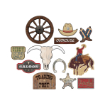 Western Value Cut-Outs - 9 PKG/12