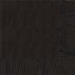 Black Paper Dinner Napkins - 12 PKG/20