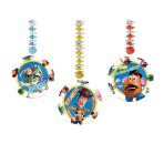 Toy Story Dangling Cut-outs - 1.2m x 23cm - 6 PKG/3