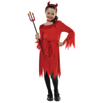 Lil Devil Costume - Age 8-10 Years - 1 PC