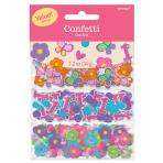 Sweet Birthday Girl 3 Pack Confetti Value - 12 PKG/3