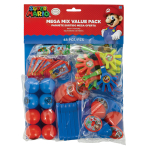 Super Mario Mega Mix Value Favour Packs - 6 PKG/48