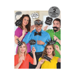 Chalkboard Birthday Photo Props - 6 PKG/13