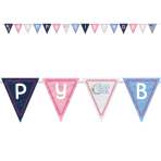 Moon and Me Pennant Banners 3.3m x 17.5cm - 6 PC