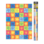 70's Disco Boogie Squares Room Rolls    - 4 Rolls