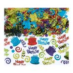 Happy Birthday Foil Confetti 141g - 6 PC