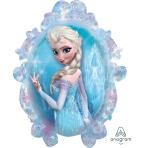 """Frozen SuperShape Foil Balloons 25""""/63cm w x 31""""/78cm h P38 - 5 PC"""