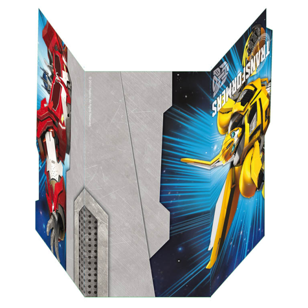 Transformers Invitations Envelopes 10 PKG6 Amscan International