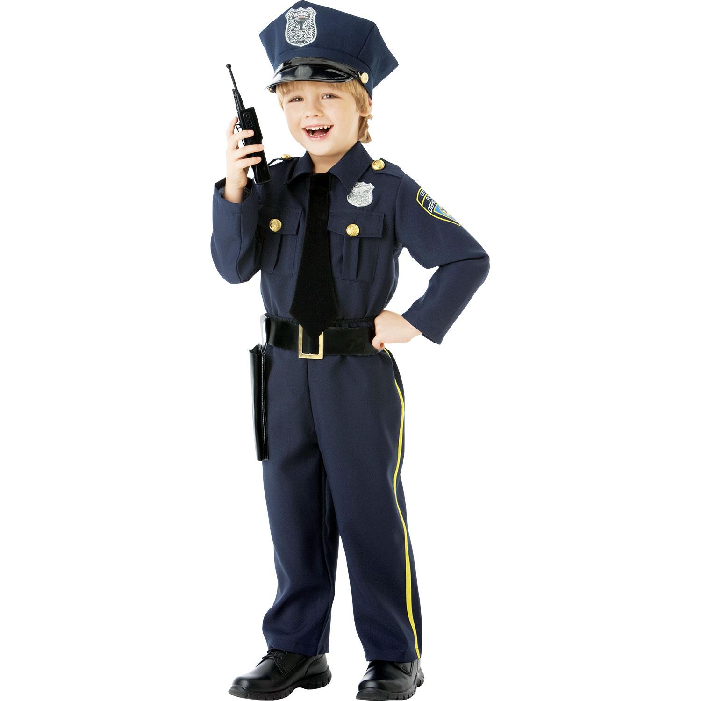 Police Walkie Talkie Toy Kid /& Boy Fancy Dress Officer Role Play Army Games