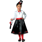 Victorian Nanny Costume - Age 3-4 Years - 1 PC