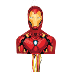 Iron Man Pull Pinatas - 4 PC