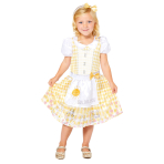 Goldilocks Sustainable Costume - Age 6-8 Years - 1 PC