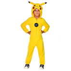 Pokemon Pikachu Costume - Size 4-6 Years - 1 PC