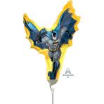 Batman Action Shape Mini Shape Foil Balloons A30 - 5 PC