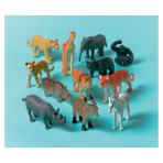 Jungle Friends Plastic Animals - 6 PKG/8