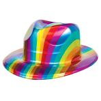 Rainbow Fedora 11cm x 26cm - 24 PC