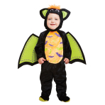 Iddy Biddy Bat Costume - Age 3-6 Months - 1 PC