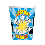 Justice League Paper Cups 250ml - 6 PKG/8