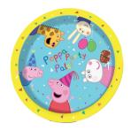 Peppa Pig Paper Plates 23cm - 12 PKG/8