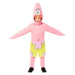 SpongeBob SquarePants Patrick Costume - Size 6-8 Years - 1 PC