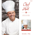 Disposable Chef's Hats - 6 PC