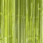 Kiwi Green Door Curtain 91cm x 2.43m - 6 PC