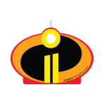 The Incredibles 2 Birthday Candles - 6 PC