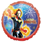 Captain Marvel Standard Foil Balloons S60 - 5 PC