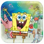 SpongeBob SquarePants Paper Plates 23cm - 6 PKG/8