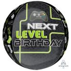 Level Up Orbz Foil Balloons S40 - 5 PC