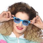 Retro Blue Sunglasses - 1 PC