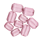 Gems Acrylic Pink Big Diamonds 28g - 6 PKG