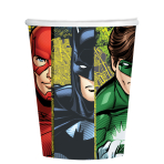 Justice League Paper Cups 266ml - 6 PKG/8