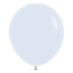 "Fashion Colour Solid White 005 Latex Balloons 18""/45cm - 25 PC"