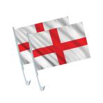 England Car Flags - 6 PKG/2