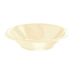 Vanilla Creme Plastic Bowls 355ml - 10 PKG/10