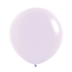 "Pastel Matte Solid Lilac 650 Latex Balloons 36""/91.5cm - 2 PC"